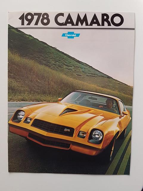 1978 Chevrolet Camaro Brochure 1