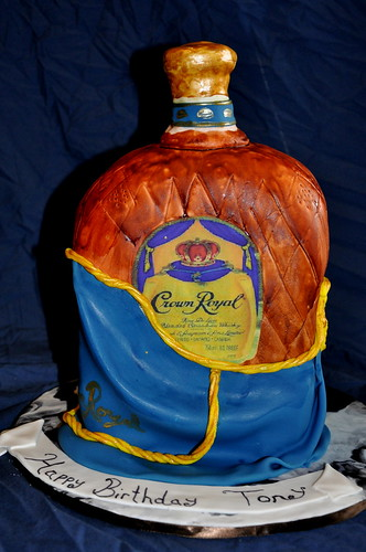 crown royal cake crown royal cake the cake was painted and the label 3197