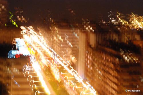 Pamplona avenida p o xii vista nocturna desenfocada - Edificio singular pamplona ...