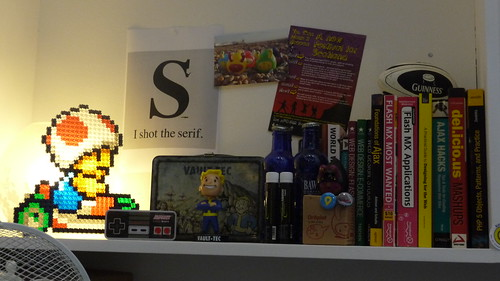 Geek shelf | by Aaron Bassett