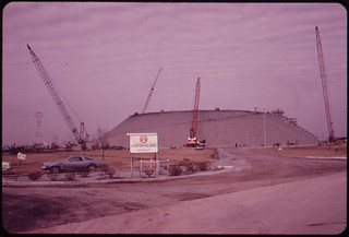 Staten Island Is the Site of the World's Largest Liquefied Gas Storage Tank. The Tank, a Property of the Texas Eastern Transmission Corporation Blew Up in February of 1973 Killing 43 Workers 05/1973 | by The U.S. National Archives