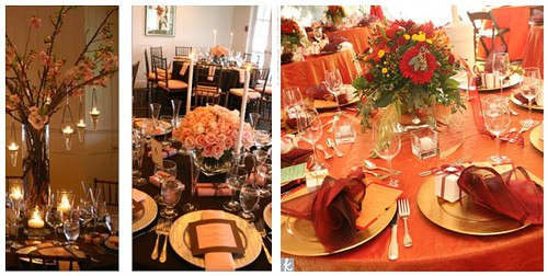 fall wedding table decorations by soo12