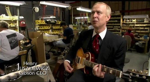 Henry Juszkiewicz CEO Gibson Guitar Talking About Les Paul Flickr