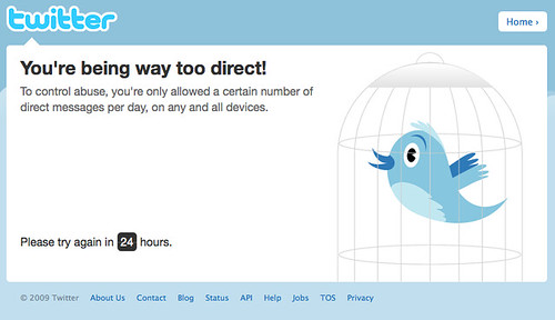 Too Direct on Twitter | Today I was trying to mass delete al… | Flickr