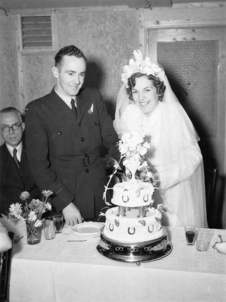 Alice Williams And Robert Wallace On Their Wedding Day 19