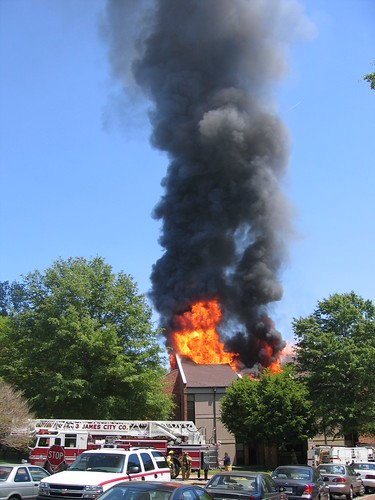 Preston Hall Fire, May 3, 2005 | by W&M Libraries