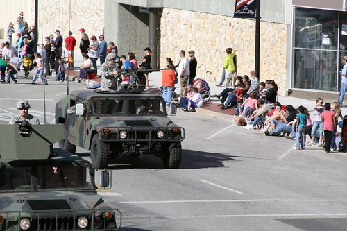 Veteran's Day Parade down Grand Avenue in Ponca City, Oklahoma on November 7, 2009 | by pcol