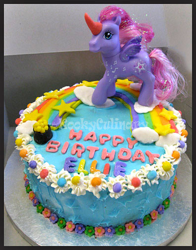 Unicorn Pegasus Rainbow Cake Pink Amp Purple Butter Cake