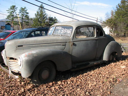 A FADED 1940 HUDSON COUPE IN NOV 2009 | by richie 59