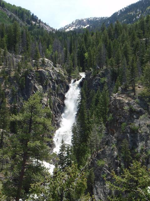 Fish creek falls located outside of steamboat springs for Fish creek falls
