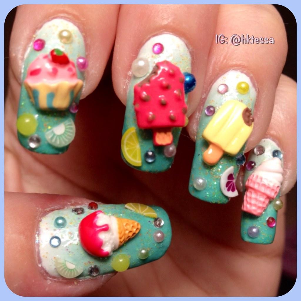 Kawaii nail art   HKTESSA   Flickr