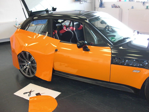 Car Wrapping Bmw Z3 M Coupe Foliencenter Nrw Wuppertal D