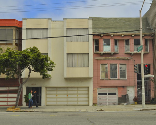 Apartments, Arguello and Clement | by tedd4u