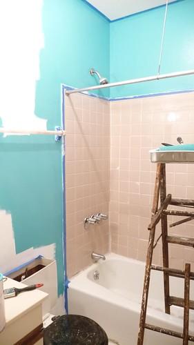Poolside blue benjamin moore paint completely - Benjamin moore swimming pool paint 042 ...