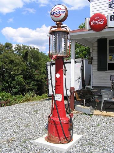 Essolene Visible Gas Pump Forest Va Visible Gas Pumps