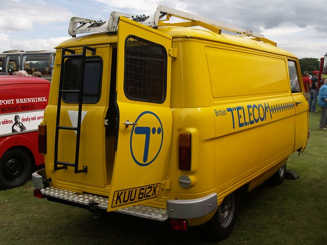 Dodge Spacevan British Telecom Van - 1981 | Dodge Spacevan ...