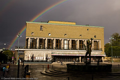 Rainbow Rising Over Stads Teatern August 2009 | by david.wala