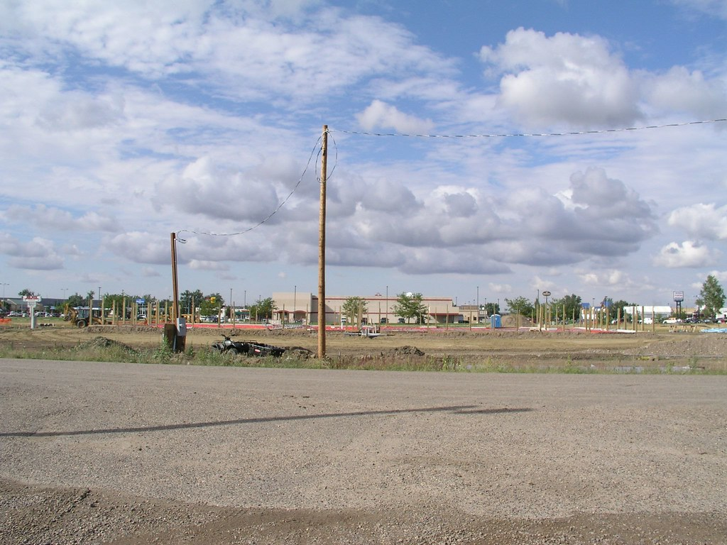 Haynes ave construction site miles city august 2009 for Notbohm motors used cars