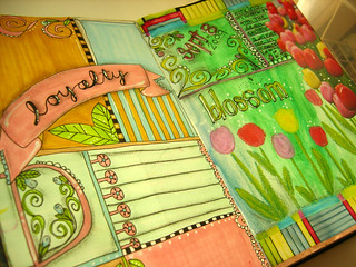 art journal - spread | by deborahdee