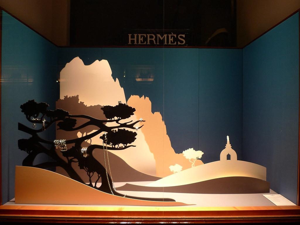 Vitrine Hermes Septembre 2009 Www Journaldesvitrines