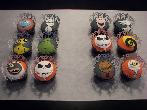 Nightmare Before Christmas Cupcakes | by death by cupcake