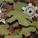 detail - DIY fleece Christmas tree