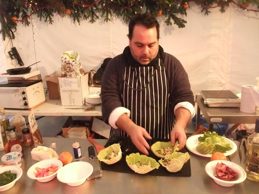 Masterchef Steven Wallis interprets Azerbaijani cooking: p… | Flickr