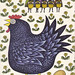 1960's Nursery Rhyme Book Illustration - Chicken