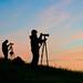 Alan Chan and David Thompson Silhouette Sunrise