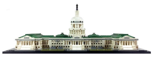 US Capitol Building LEGO set 21030