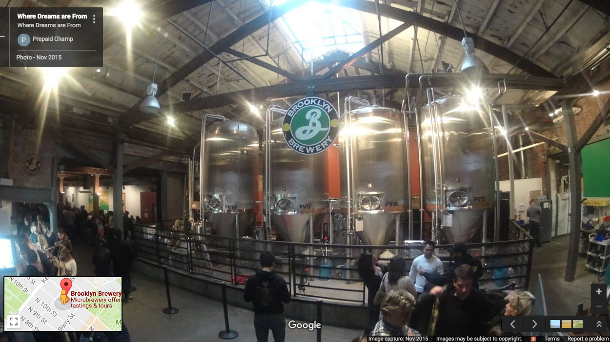 Brooklyn Brewery Street View