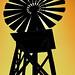 Knotts Windmill Silhouette
