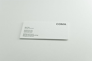 COMA Business Card | by Aen Tan