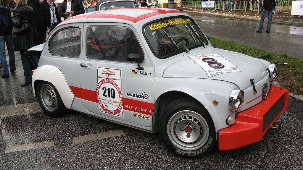 1970 Fiat Abarth 1000 Tcr Jens Lilienthal Flickr