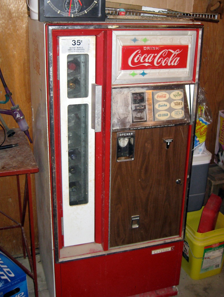 vintage coke machine identification