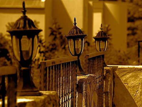 Lamps In A Row | by Huckvale84 Imaging