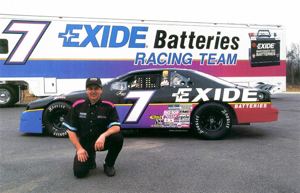 1994 Geoff Bodine Exide Batteries Ford Thunderbird Flickr