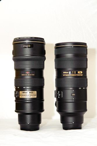 Nikon 70-200mm f/2.8 VRII vs VR | by Kent Yu
