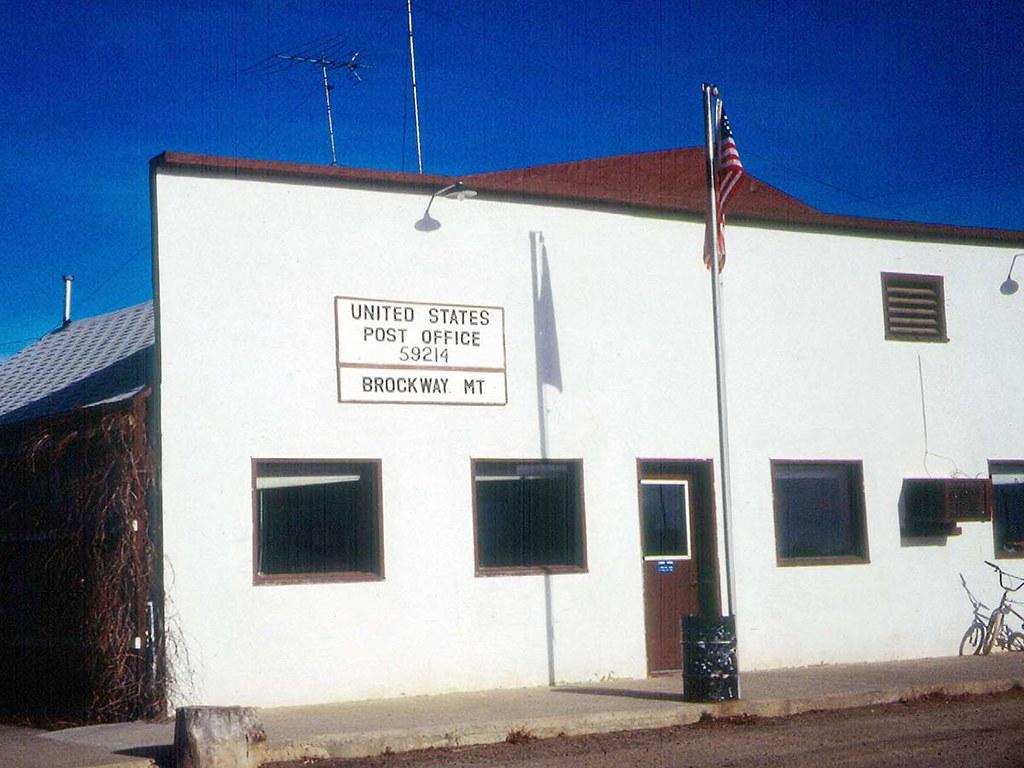 Montana mccone county brockway -  Brockway Montana 59214 By Postmarks From Montana