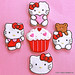 Hello Kitty Red & White Cookie Collection