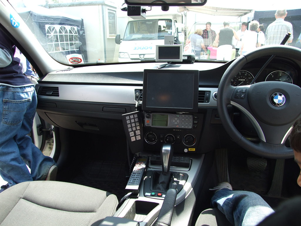 police car interior traffic police west midlands police cjbcbr flickr. Black Bedroom Furniture Sets. Home Design Ideas