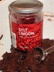 Lingonberry in Chocolate Lingonberry Jam Cookies | by mia3mom