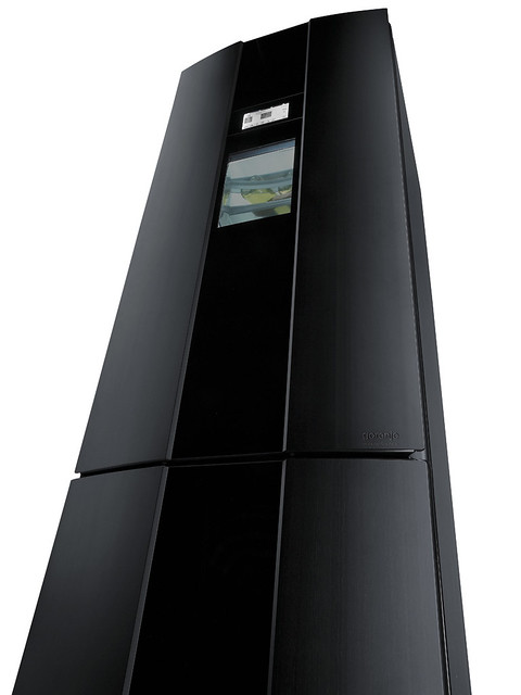 gorenje pininfarina black no frost fridge freezer nrk 2000 flickr. Black Bedroom Furniture Sets. Home Design Ideas