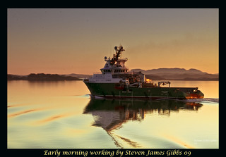Early morning working | by Steven J Gibbs