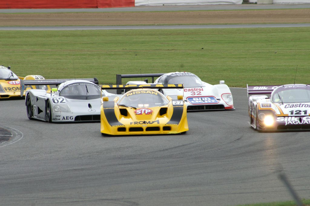group c sports cars the start silverstone classic 2009 flickr. Black Bedroom Furniture Sets. Home Design Ideas