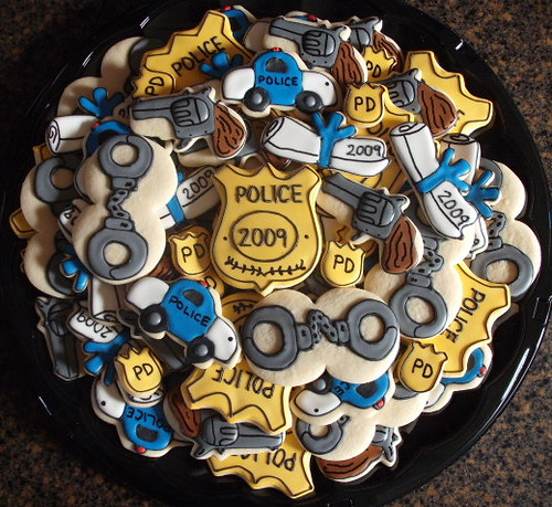 Police Platter These Cookies Are Probably The Largest