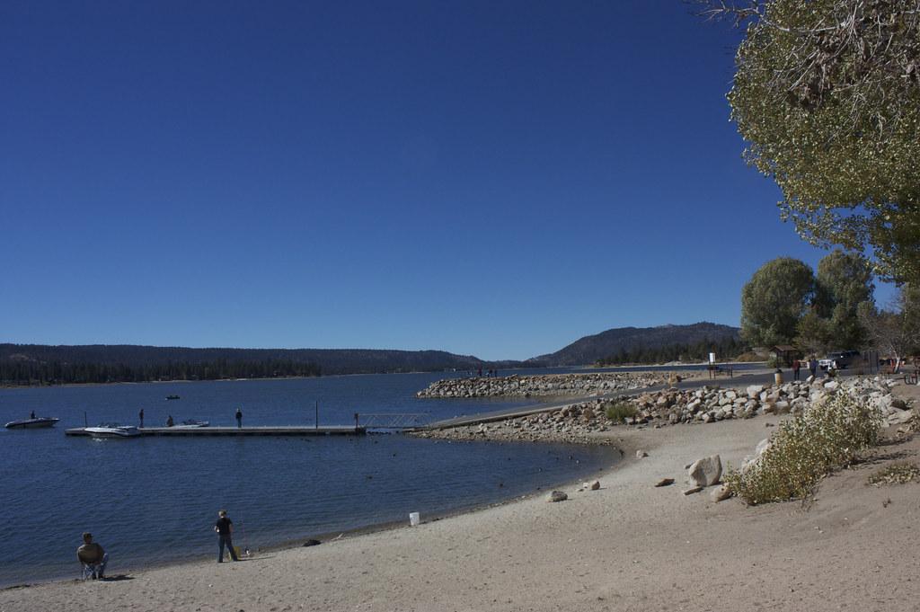 Fishing at big bear lake ewen roberts flickr for Big bear lake fishing report