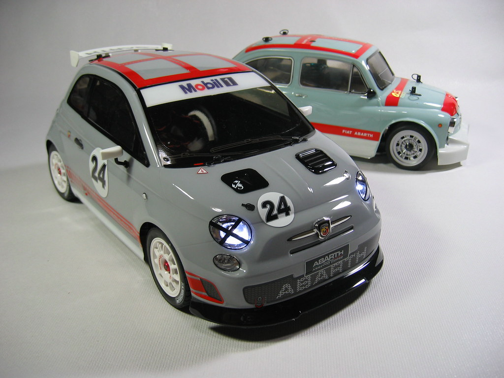 Fiat Abarth 500 Assetto Corse And 1000 Tcr Berlina Corsa