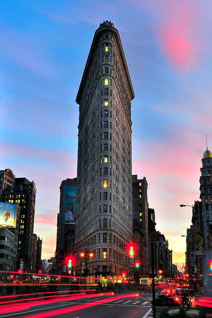 Sunset Over The Flatiron Building Manhattan Nyc 30