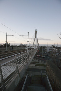 The Luas Bridge In Dundrum | by infomatique